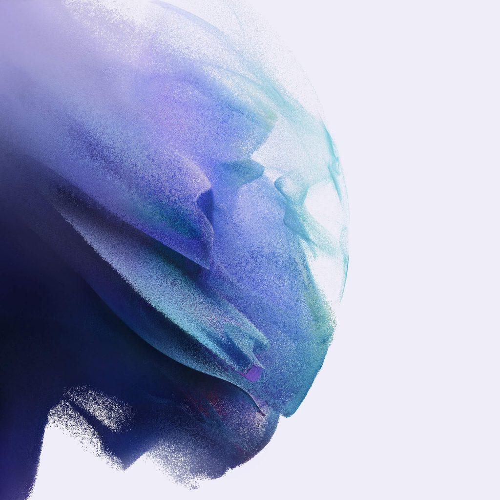 Fondos de pantalla galaxy S21 azul